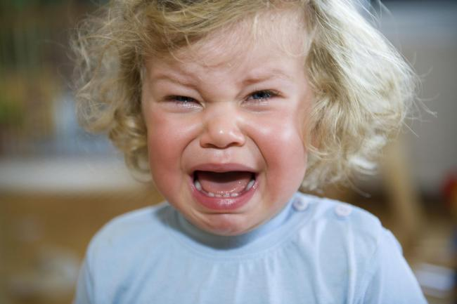 A Generic Photo of a crying toddler. See PA Feature FAMILY Happy Toddlers. Picture credit should read: PA Photo/thinkstockphotos. WARNING: This picture must only be used to accompany PA Feature FAMILY Happy Toddlers...