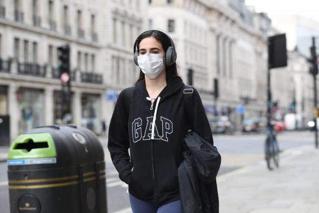 Deaf people can find it difficult to hear when people wear masks
