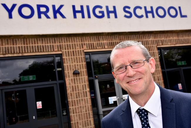 Trevor Burton executive head at South Bank Academy Trust in York   Picture: Frank Dwyer