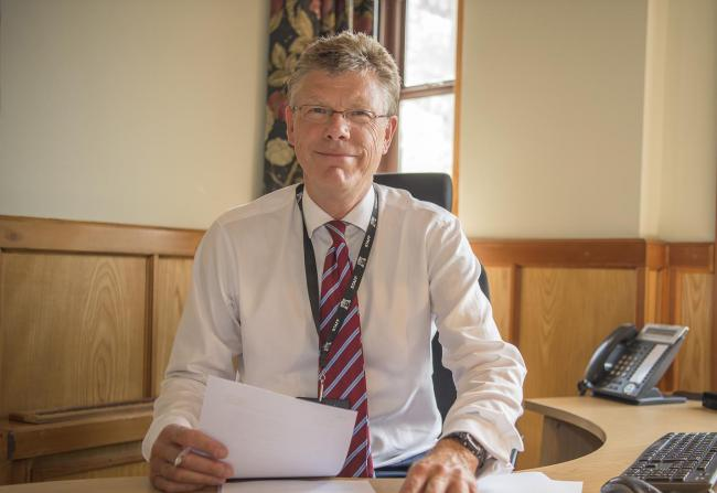 Ampleforth College headteacher Robin Dyer