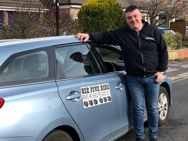 Lee Clarke, of York taxi firm 659659