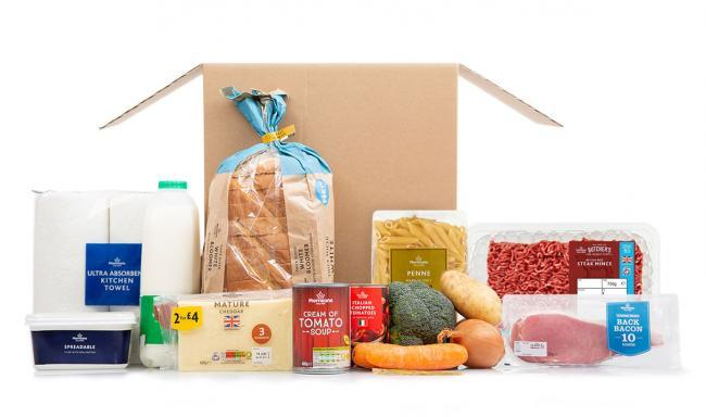 How to skip the supermarket queues and get a week's groceries delivered to your door for £35