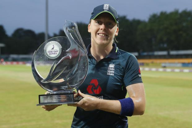 England captain Heather Knight will help transport medicine and also make a call to people who are self-isolating
