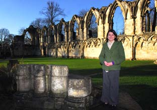 Discover the history of St Mary's Abbey in Museum Gardens, York