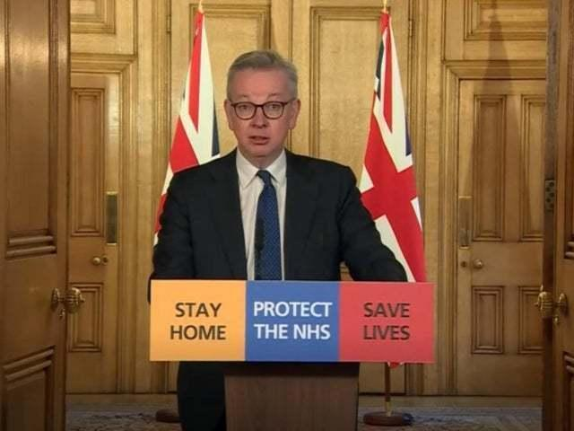 Michael Gove said at the latest daily briefing that social distancing will remain in place. But isn't it time the government allowed us to exercise our own judgement? asks our correspondent. Picture: PA Wire