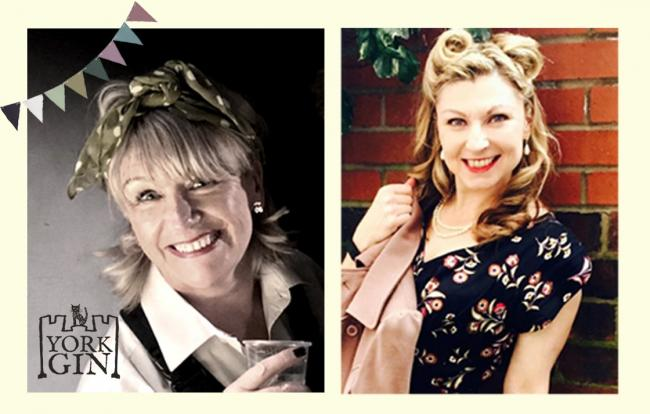 York Gin is hosting a 1940s 'virtual' knees-up on VE Day, with  Jo Baines and Susannah Hird