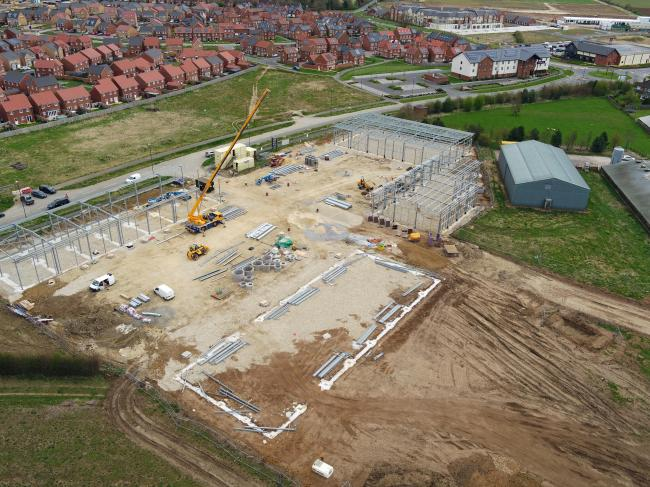 Evora Construction has sealed a number of deals, in addition to contracts such as work on Marrtree Business Park, pictured, near Thirsk