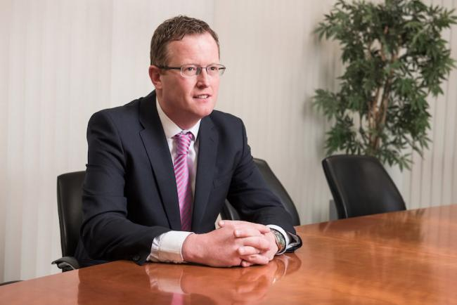 Daniel Smith, managing director of Barratt Developments Yorkshire East
