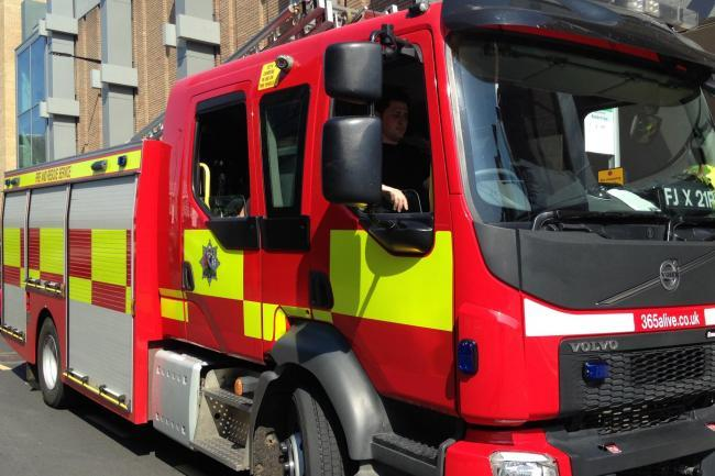 Firefighters rescue man stuck in a bath in North Yorkshire