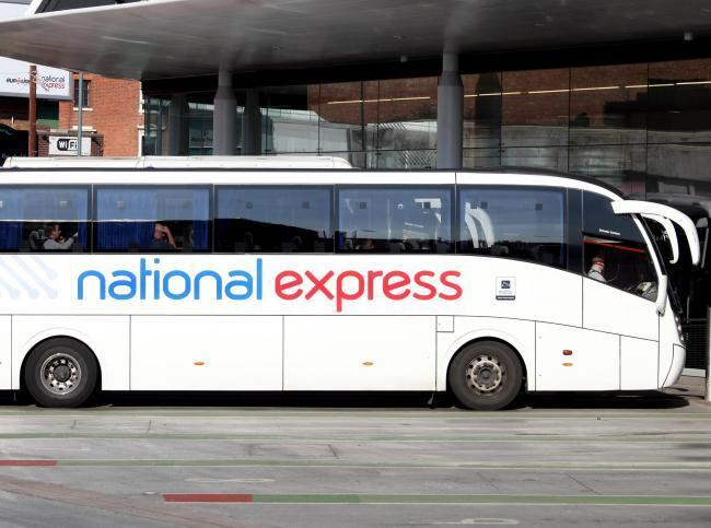 National Express confirms that coach services will restart in July. Picture: National Express