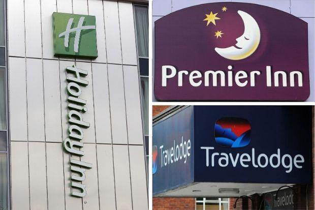 Premier Inn, Travelodge and Holiday Inn issue update on strict rules for guests. Picture: Newsquest