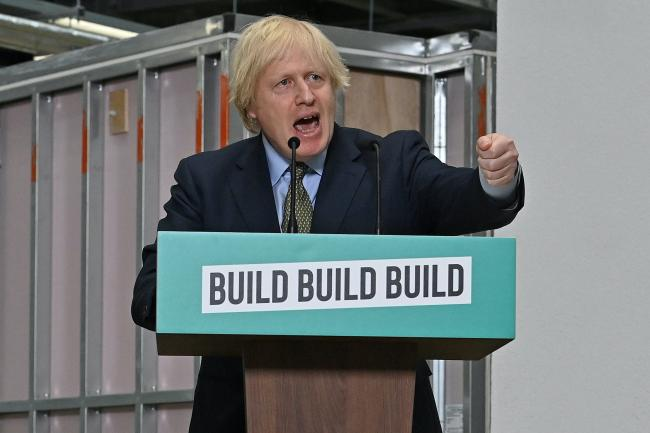 Boris Johnson visits Dudley