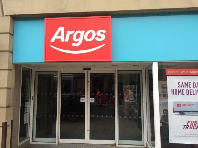 The Argos store in Piccadilly, which iks still closed with no date given for its reopening