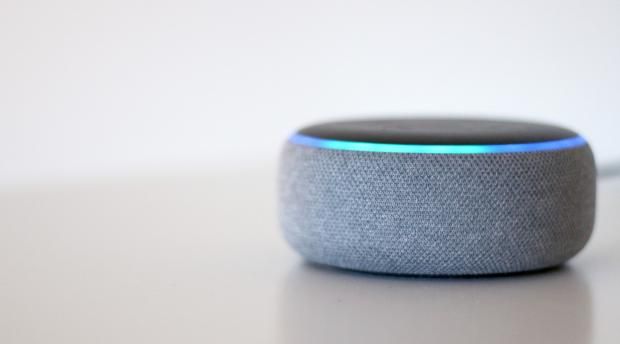 York Press: The Echo Dot (third-generation) is one of the smallest Amazon Echo smart speakers. Credit: Reviewed / Betsey Goldwasser