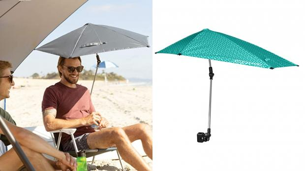 York Press: Take a break from the sun with this clip-on umbrella Credit: Amazon