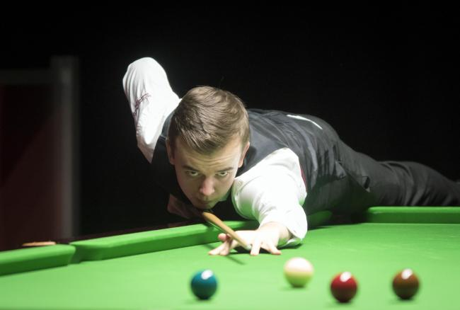 York snooker player Ashley Hugill . Picture: Ian Parker