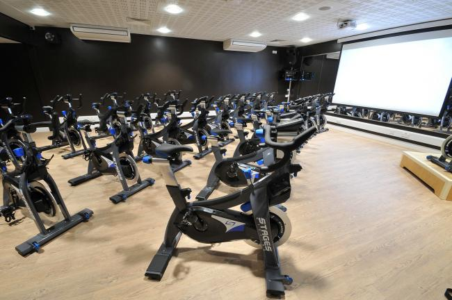 The gym at the Francis Scaife leisure centre in Pocklington