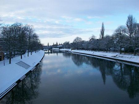 River Ouse from Lendal Bridge by Heather Hewson