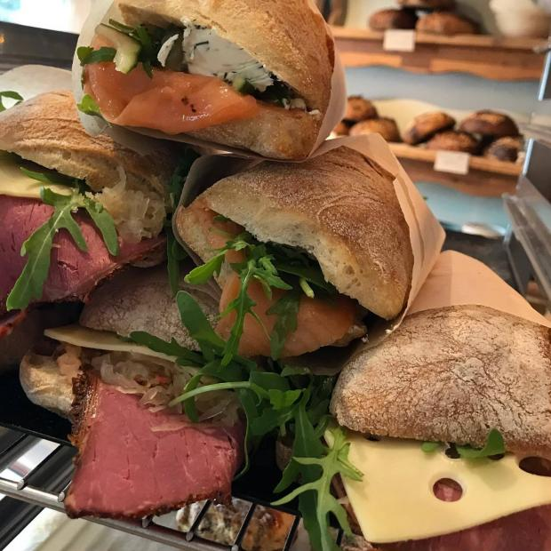 York Press: Ciabatta sandwiches on sale at The Pig & Pastry in York
