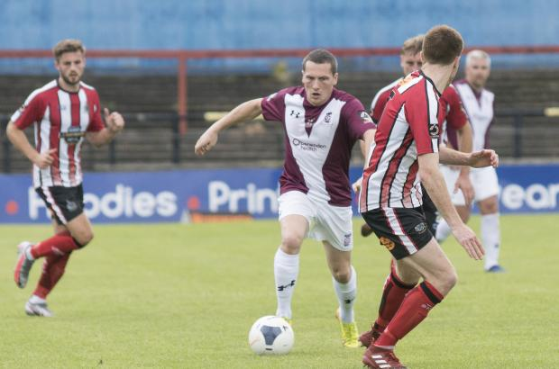 York Press: City's Dan Maguire looks to penetrate the Altrincham defence