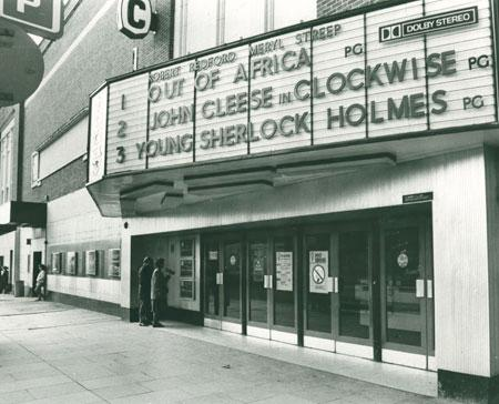 The ABC cinema on Piccadilly, York, in 1986.