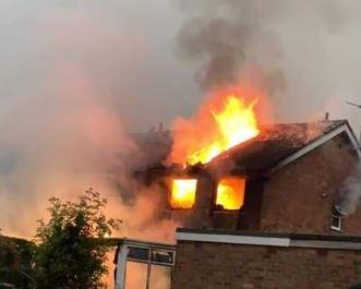 The house fire in Haxby