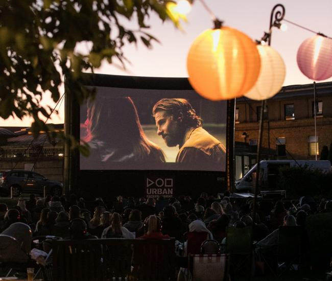 An outdoor cinema is to be re-created in the grounds of a York hotel