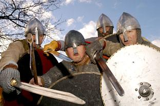 Viking warriors will mark the 25th anniversary of the Viking Centre which will be relaunched next month