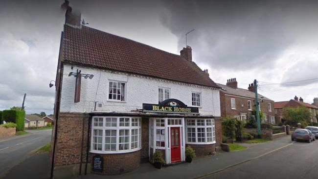 The Black Horse at Tollerton