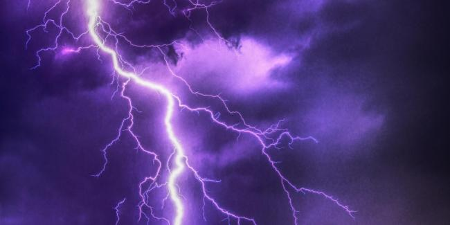 Weather warning for thunderstorms for York and North Yorkshire