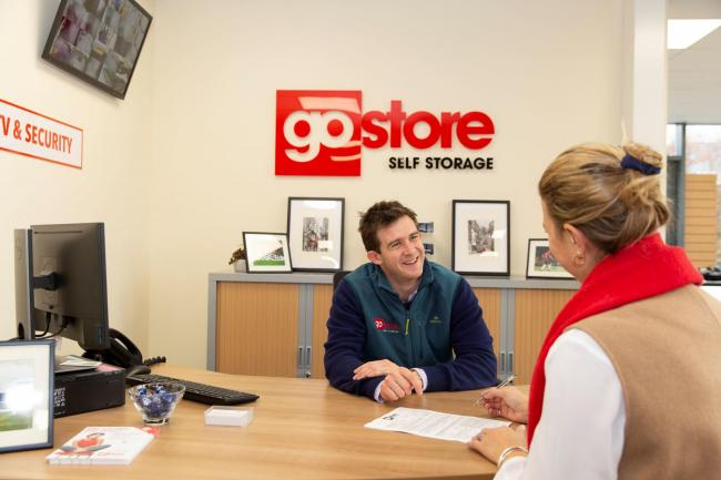 Jamie Galbraith, who manages the Go Store self storage site at Monk's Cross in York