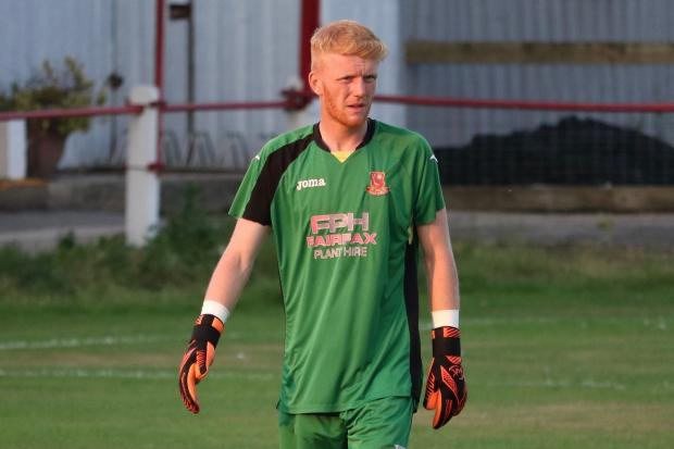 Selby Town goalkeeper Dylan Parkin. Picture: Selby Town FC