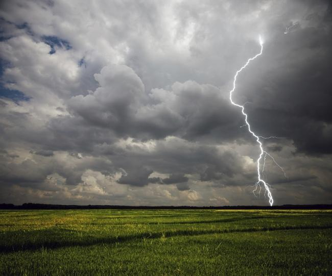 Forecasters are warning of s risk of thunderstorms in York over the next few days  Image: Pixabay