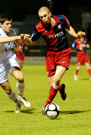 York City 1, Newport County 0 -  FA Trophy replay