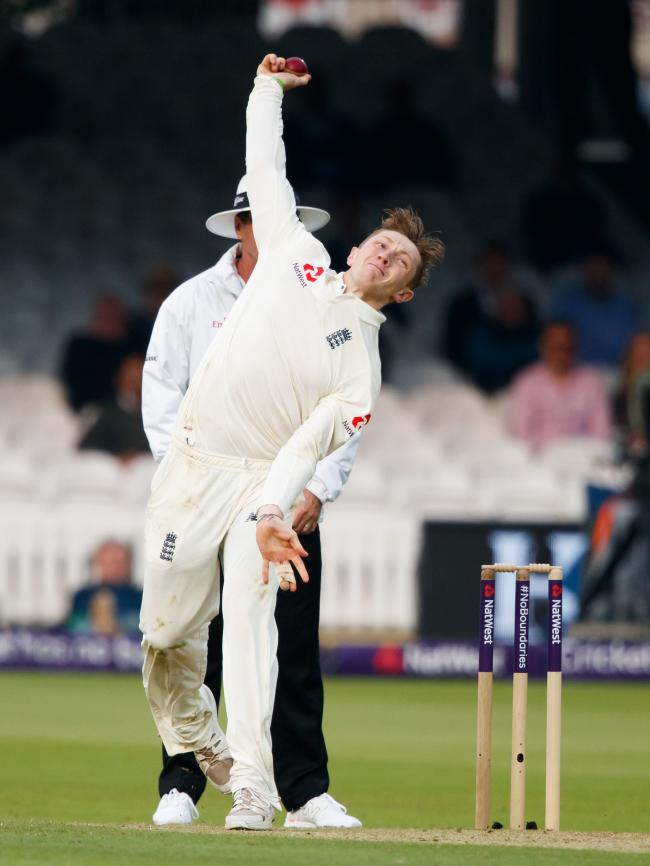 Bess in action for England. Picture: John Walton/PA Wire