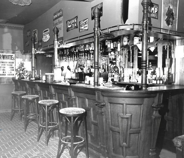 York Press: The Victorian bar inside The Lowther
