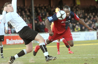 York City 1, Corby Town 0  - FA Trophy