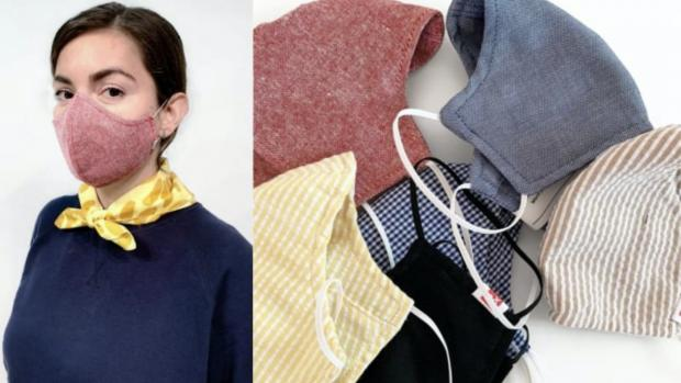 York Press: The tightly woven fabric masks are a great option. Credit: HEDLEY AND BENNETT