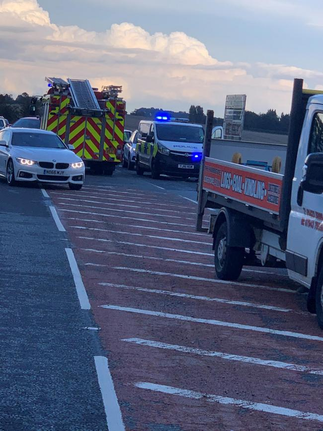 Air ambulance called out to three vehicle crash