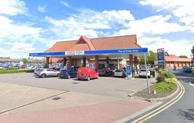 Tesco petrol station at Clifton Moor. Picture: Google Maps