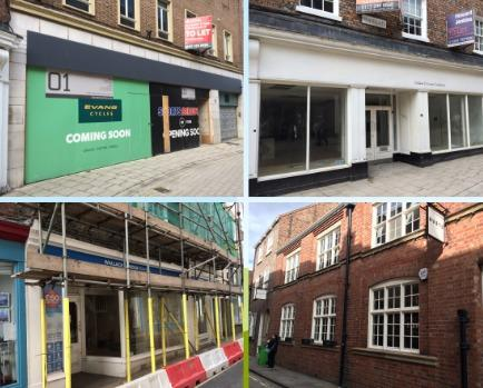 The former BHS store, CMD store, Gusto restaurant and Wallace Arnold shop - there are hopes that all four could reopen despite the gloom caused by the pandemic