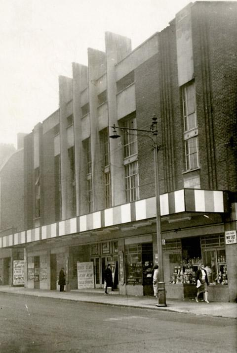 The Rialto in Fishergate - where The Beatles played in 1963