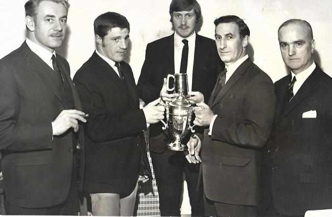 ROWNTREE RUFC DINNER 1970