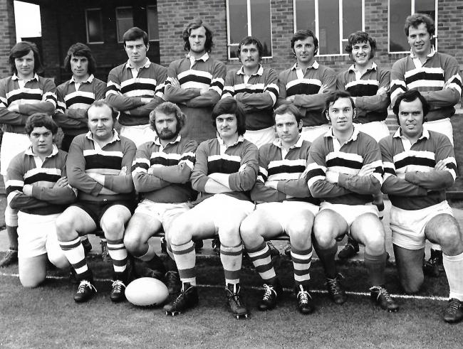 ROWNTREE RUGBY UNION 1ST XV 1973