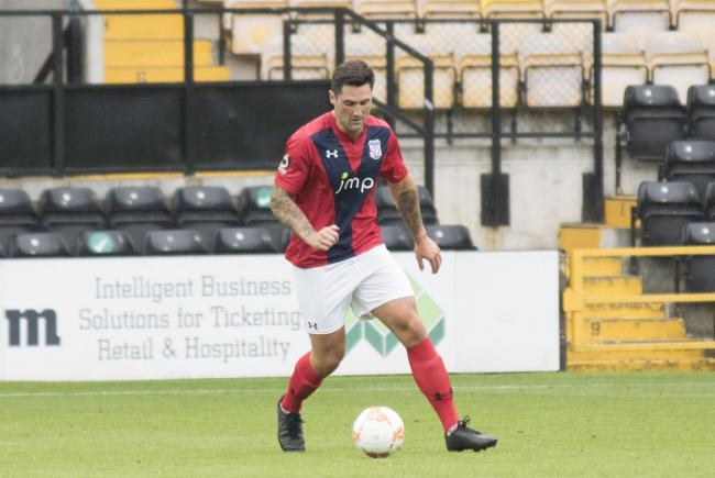 York City defender Matty Brown, pictured in action against Notts County, went off injured in the first-half against Chorley. Picture: Ian Parker