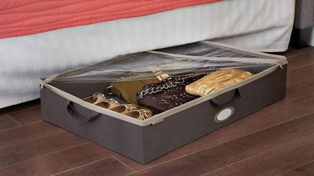 York Press: Under-bed storage is ideal for homes with limited space. Credit: ClosetMaid