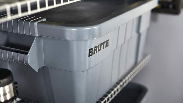 York Press: Avoid storing clothes in damp locations. Credit: Rubbermaid