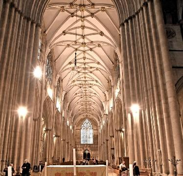 People can light candles at York Minster and pray for loved ones they have lost during the pandemic next Monday