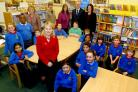 City of York Council boss Kersten England visits pupils at Clifton Green Primary School