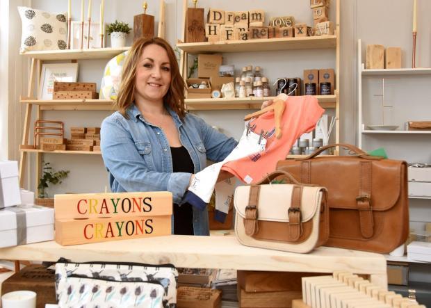 York Press: Beth Elsdon inside her shop. Picture: David Harrison.